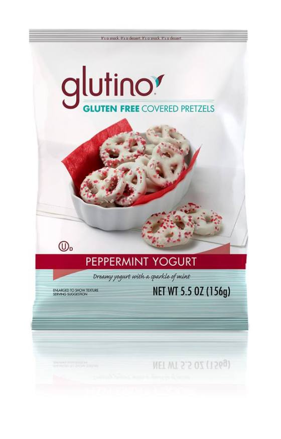 Glutino Peppermint Yogurt Pretzel